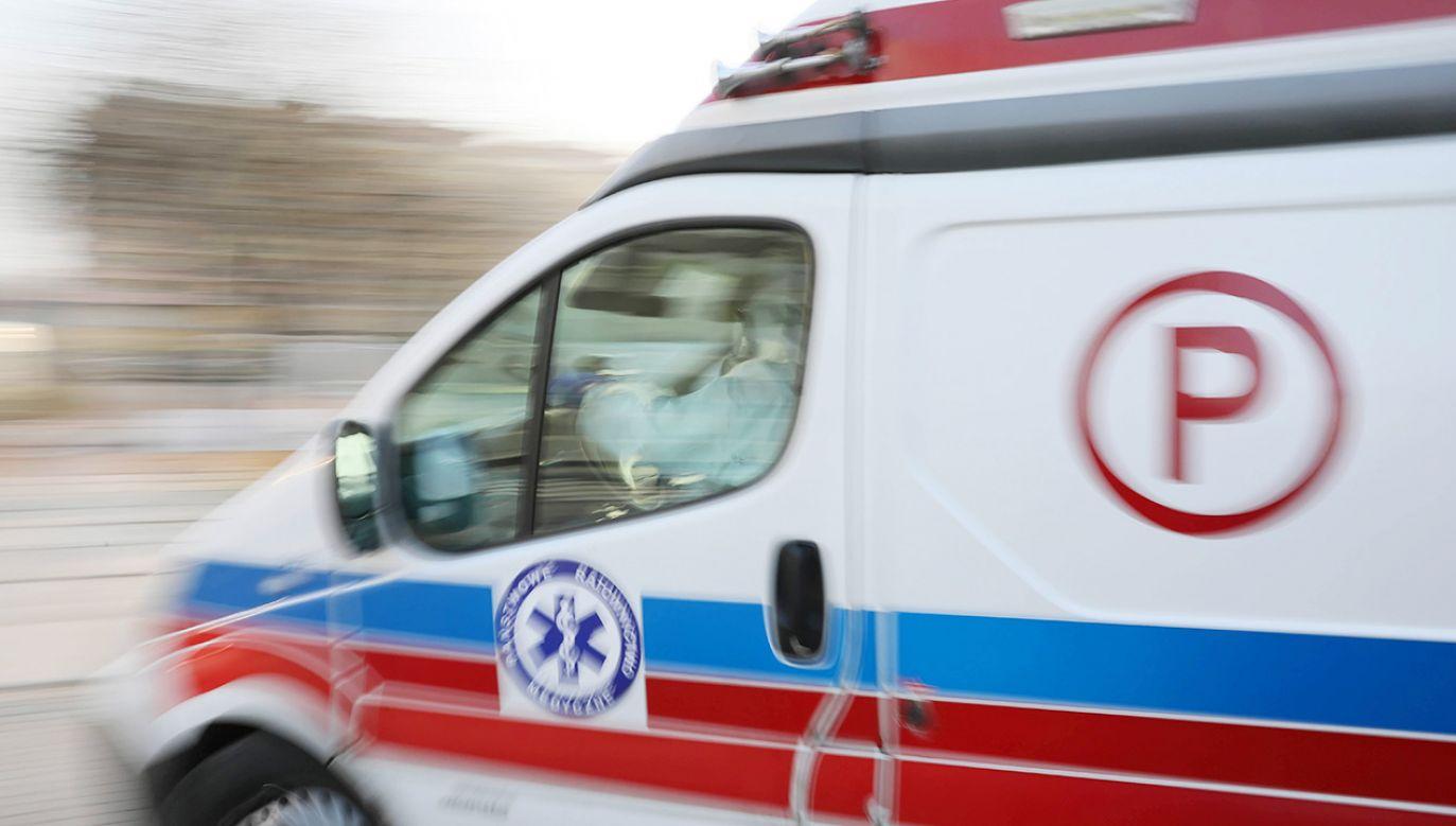 Dwie osoby zostały poparzone kwasem w firmie kurierskiej (fot. PAP/Leszek Szymański)