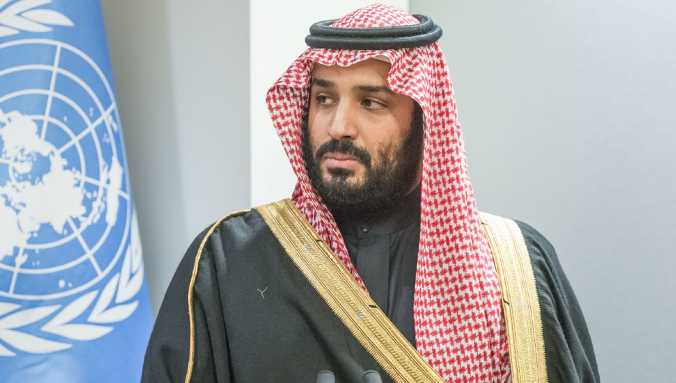 Książę Muhammad ibn Salman jest pierwszy w kolejności do objęcia tronu Arabii Saudyjskiej (fot. Albin Lohr-Jones/Pacific Press/LightRocket via Getty Images)