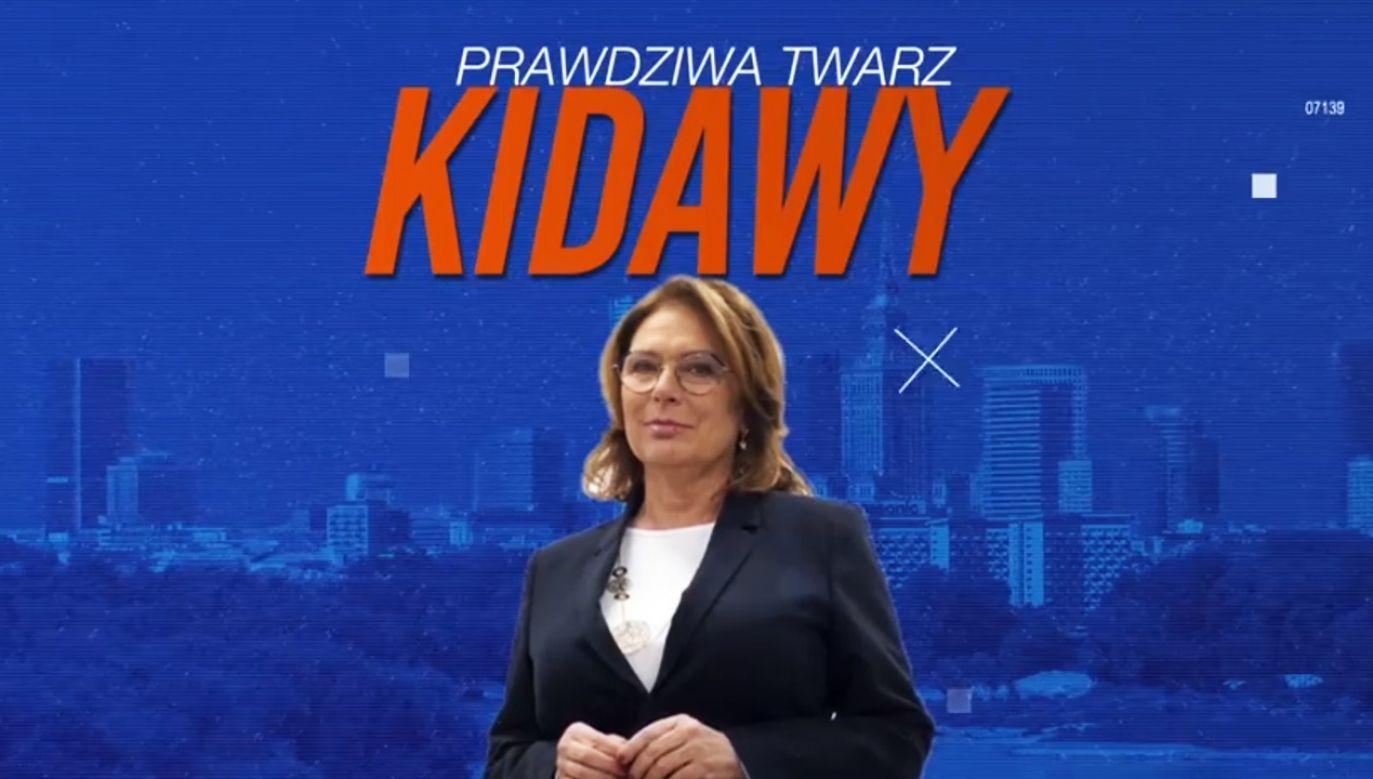 """""""Jak głosowała prawdziwa Kidawa?"""" (fot. Facebook/ Andrzej Duda)"""