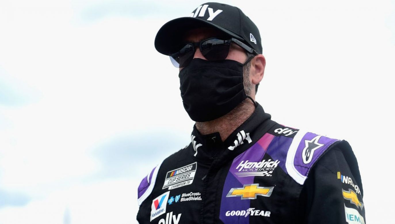 Mistrz NASCAR Jimmie Johnson (fot. Jared C. Tilton/Getty Images)
