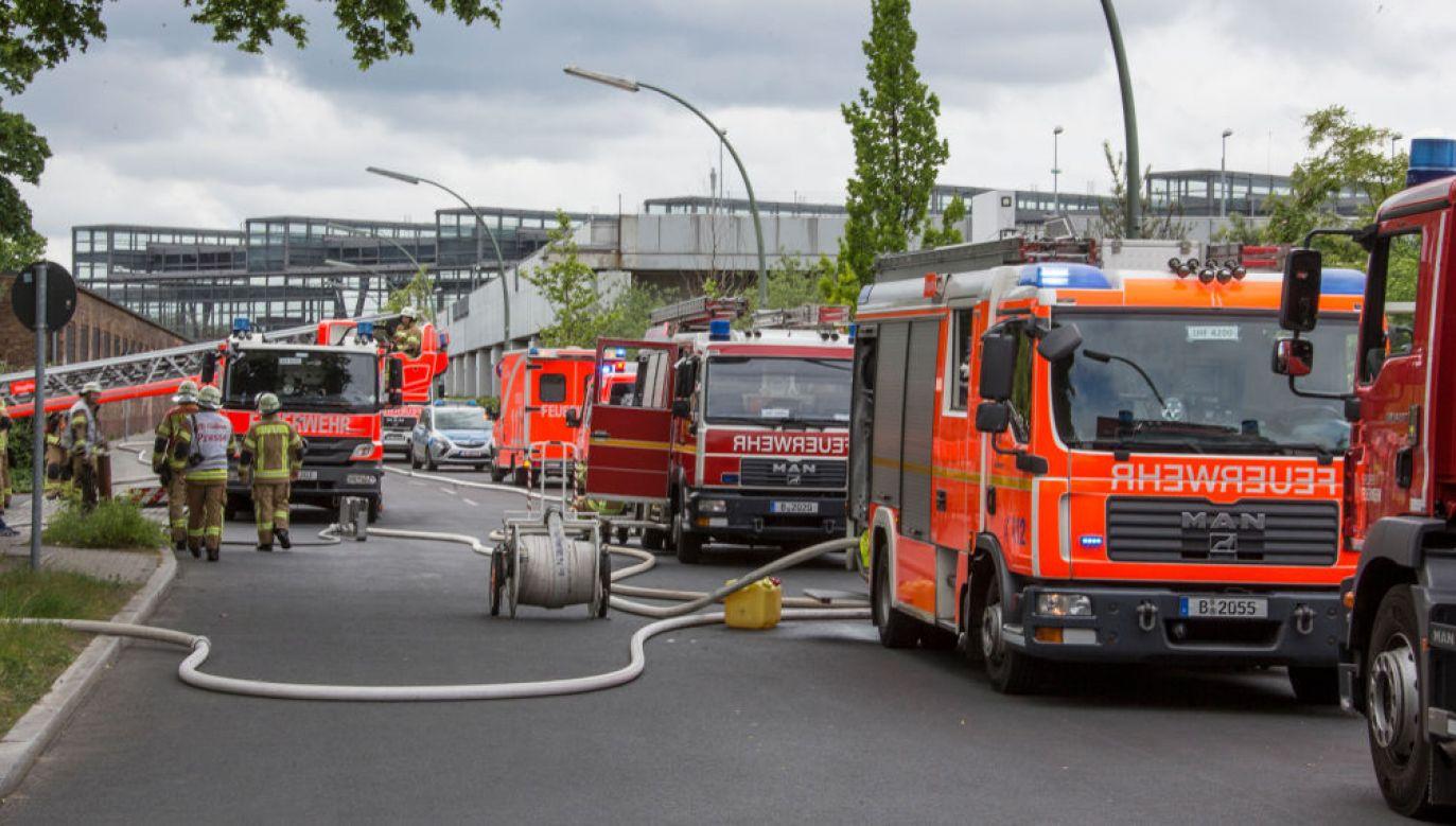 Substancja jest niebezpieczna, ma silne właściwości wybuchowe (fot. Olaf Wagner\ullstein bild via Getty Images; zdjęcie ilustracyjne)