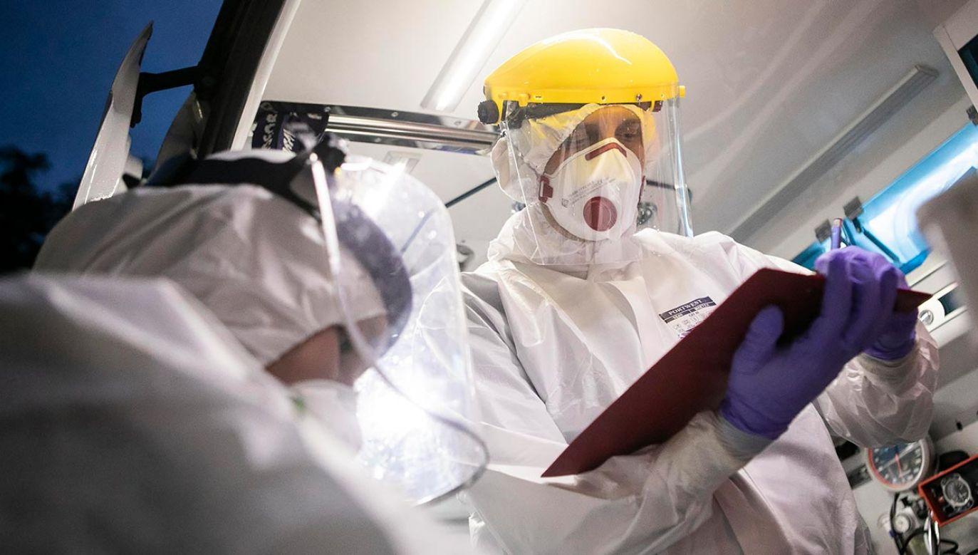 Raport o epidemii koronawirusa w Polsce (fot. PAP/Jacek Szydłowski)