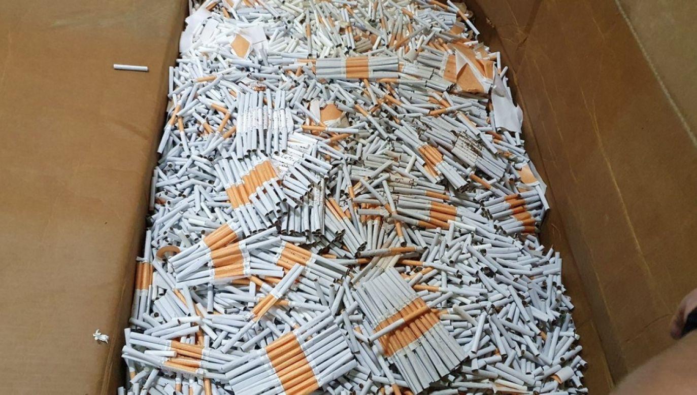 Likwidacja nielegalnej wytwórni papierosów (zdjęcie ilustracyjne) (fot. Krajowa Administracja Skarbowa)