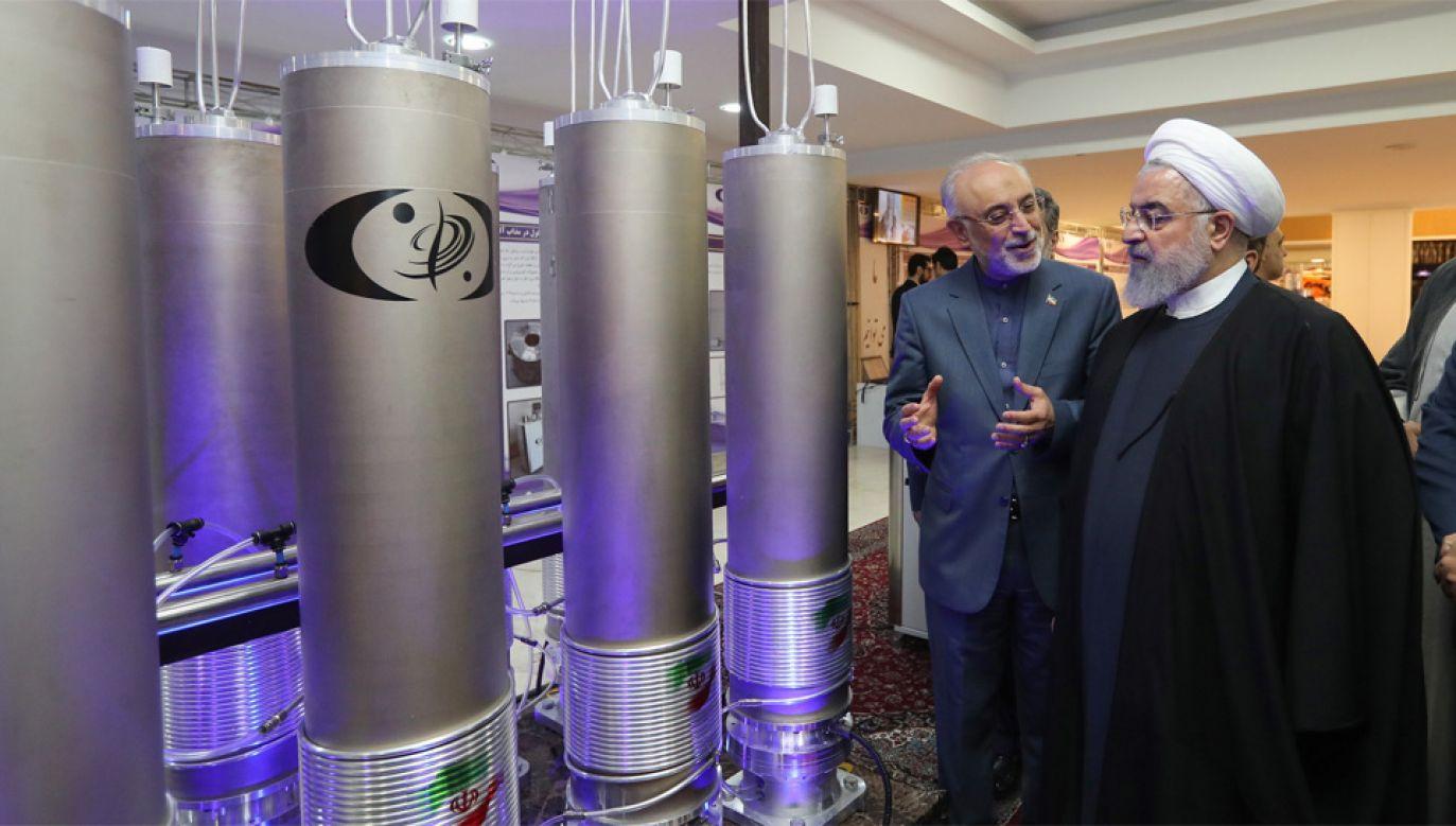 Prezydent Iranu Hassan Rouhani (fot. PAP/EPA/IRANIAN PRESIDENCY OFFICE HANDOUT)