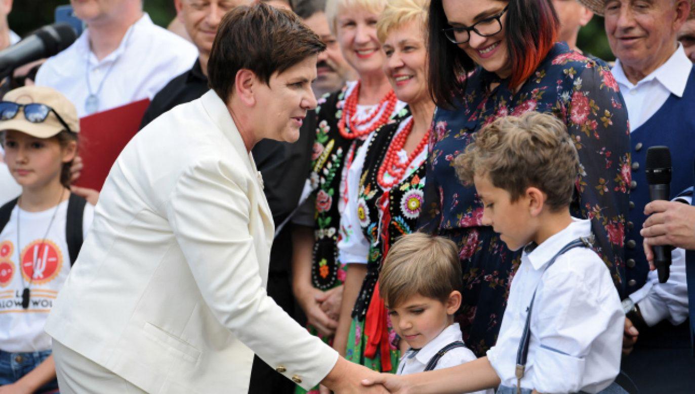 Była premier Beata Szydło (fot. PAP/Darek Delmanowicz)