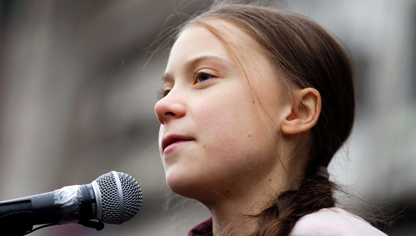 Greta kilka dni temu gościła w Polsce (fot. REUTERS/Pierre Albouy)
