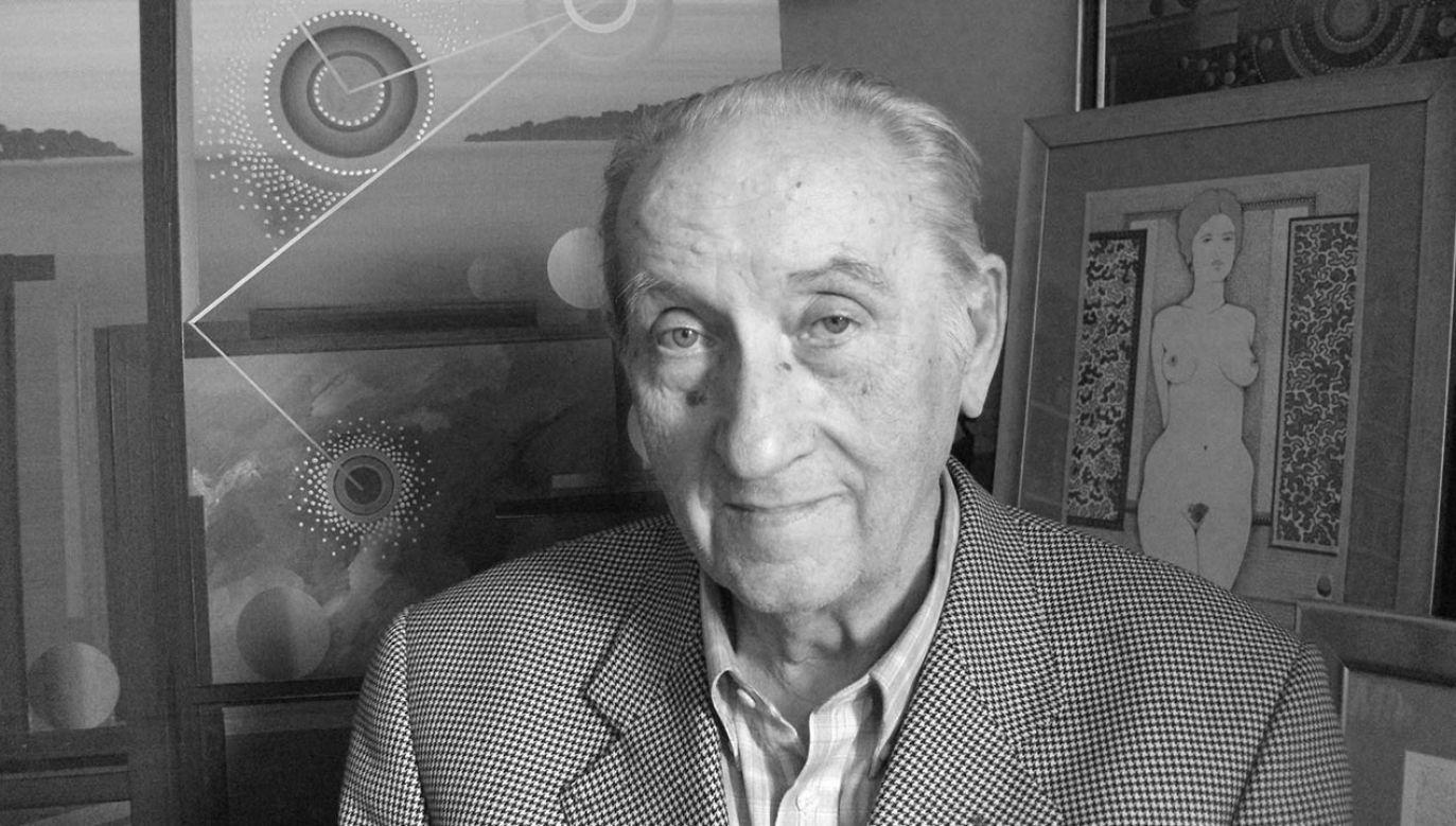 Henryk Płóciennik miał 87 lat (fot. Facebook/HenrykPlociennikArtysta)