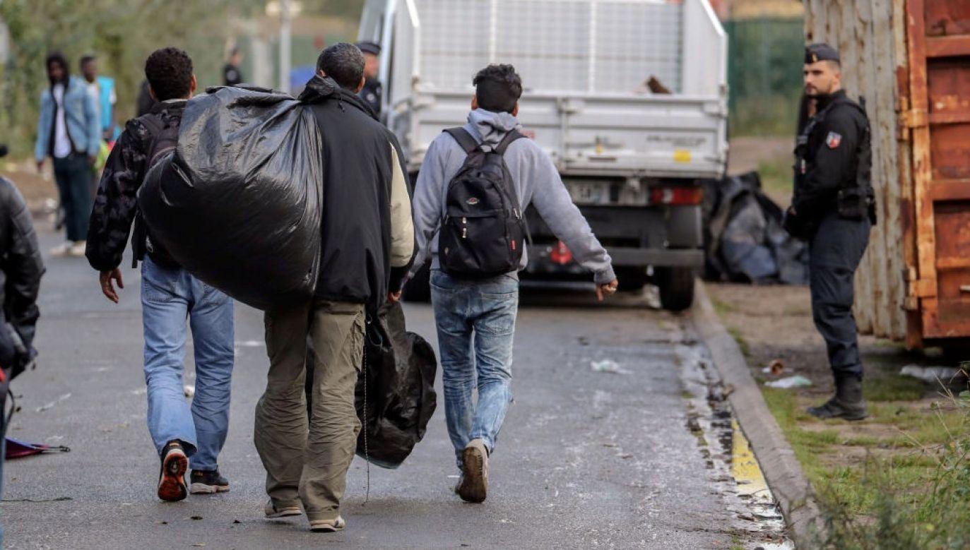 Migranci sądzą, że mają większe szanse dostać się na Wyspy morzem (fot. Steve Parsons/PA Images via Getty Images)