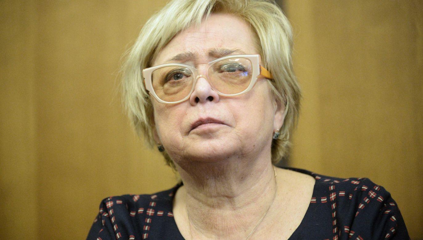 Kadencja Małgorzaty Gersdorf kończy się w kwietniu 2020 (fot. PAP/Marcin Obara)