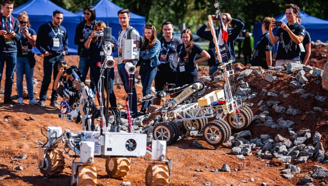 ERC Space and Robotics Event 2021 odbędzie się w dniach 10–12 września w Kielcach (fot. roverchallenge.eu)