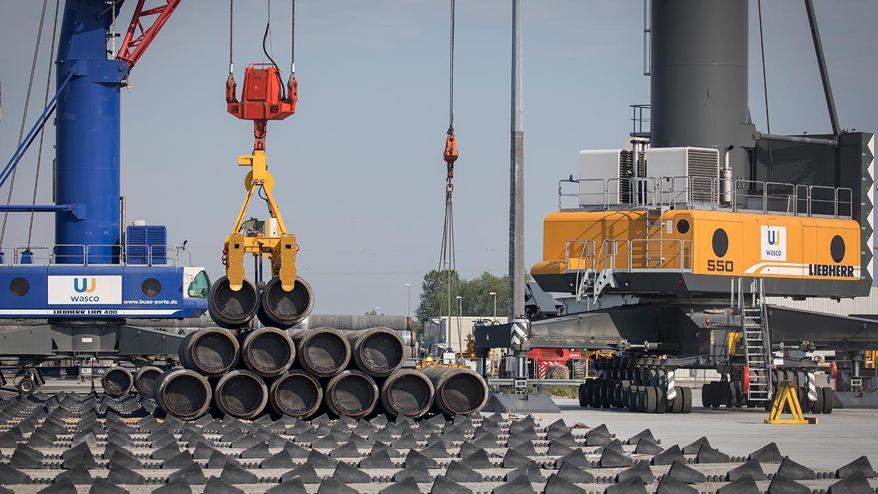 Baltic Pipe to projekt, który ma utworzyć nową drogę dostaw gazu ziemnego (fot. Axel Schmidt/Getty Images)