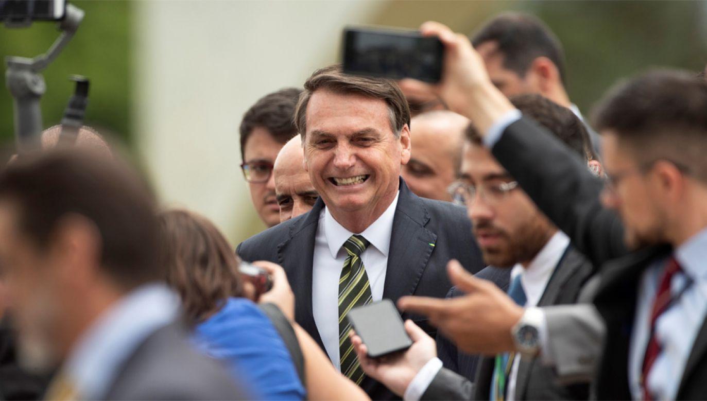 Nowe ugrupowanie Jaira Bolsonaro ma się nazywać Movimento pelo Brasil (fot. PAP/EPA/Joedson Alves)