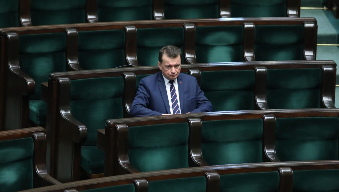 We wpisie na Twitterze podziękował też Służbie Kontrwywiadu Wojskowego (fot. PAP/Leszek Szymański)