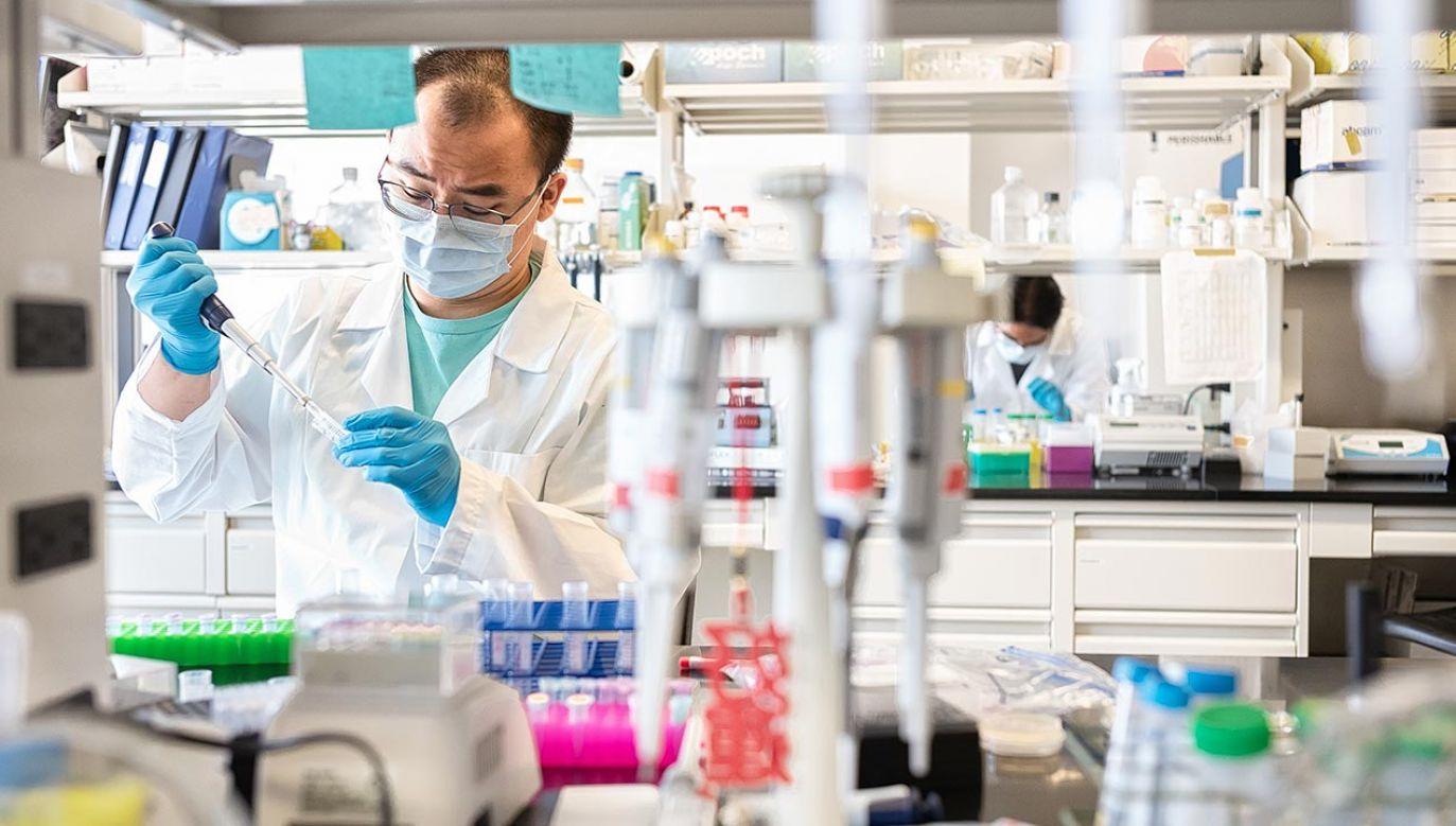 Firma włącza się w walkę z koronawirusem (fot. Misha Friedman/Getty Images)