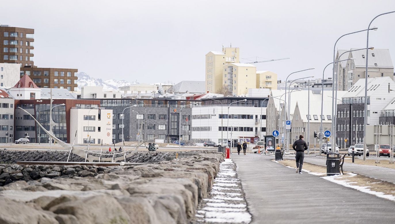 Drgania były odczuwalne w Reykjaviku (fot. Ernir Eyjolfsson/Anadolu Agency via Getty Images)