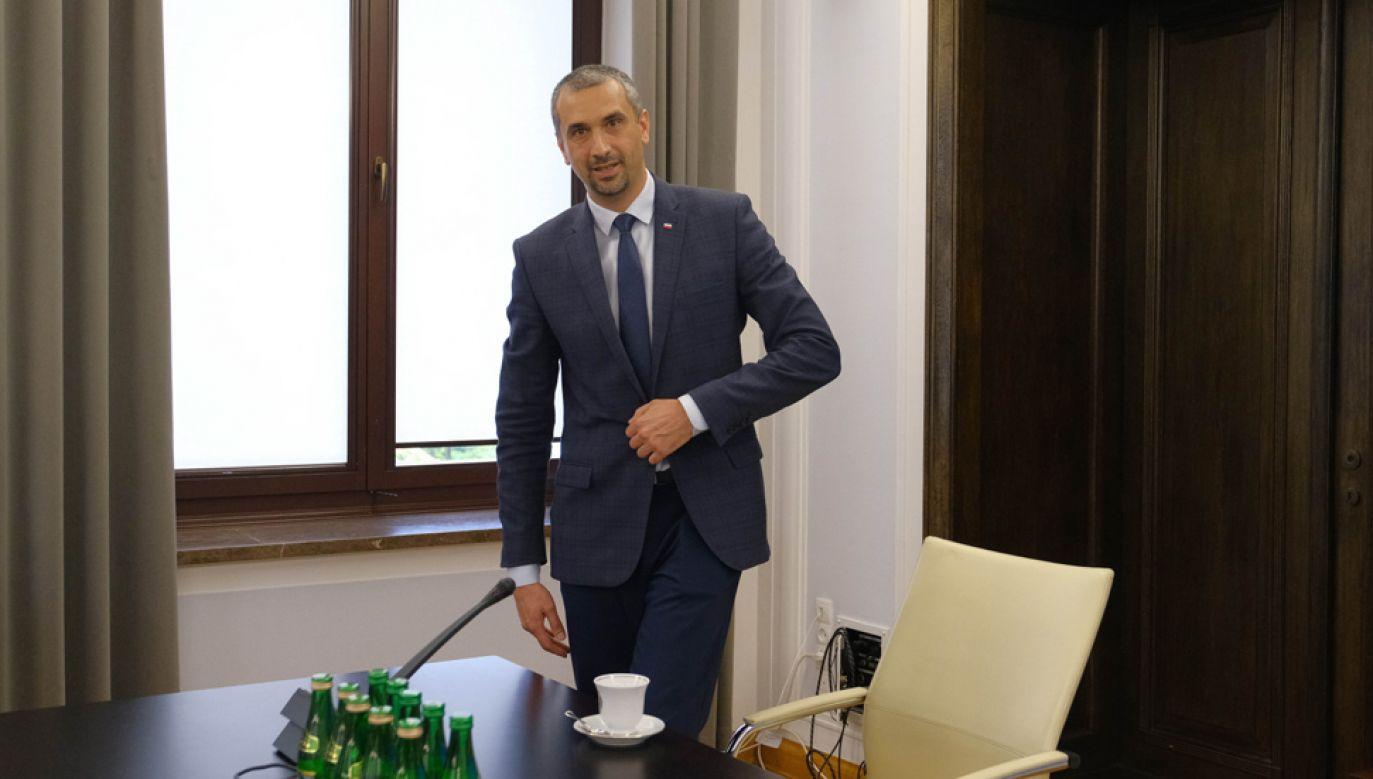 Wicemarszałek Senatu Marek Pęk (fot. PAP/Mateusz Marek)