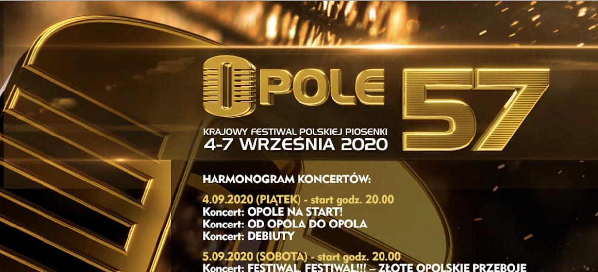 """Startuje limitowana sprzedaż biletów na 57. Krajowy Festiwal Polskiej Piosenki w Opolu!"""""""