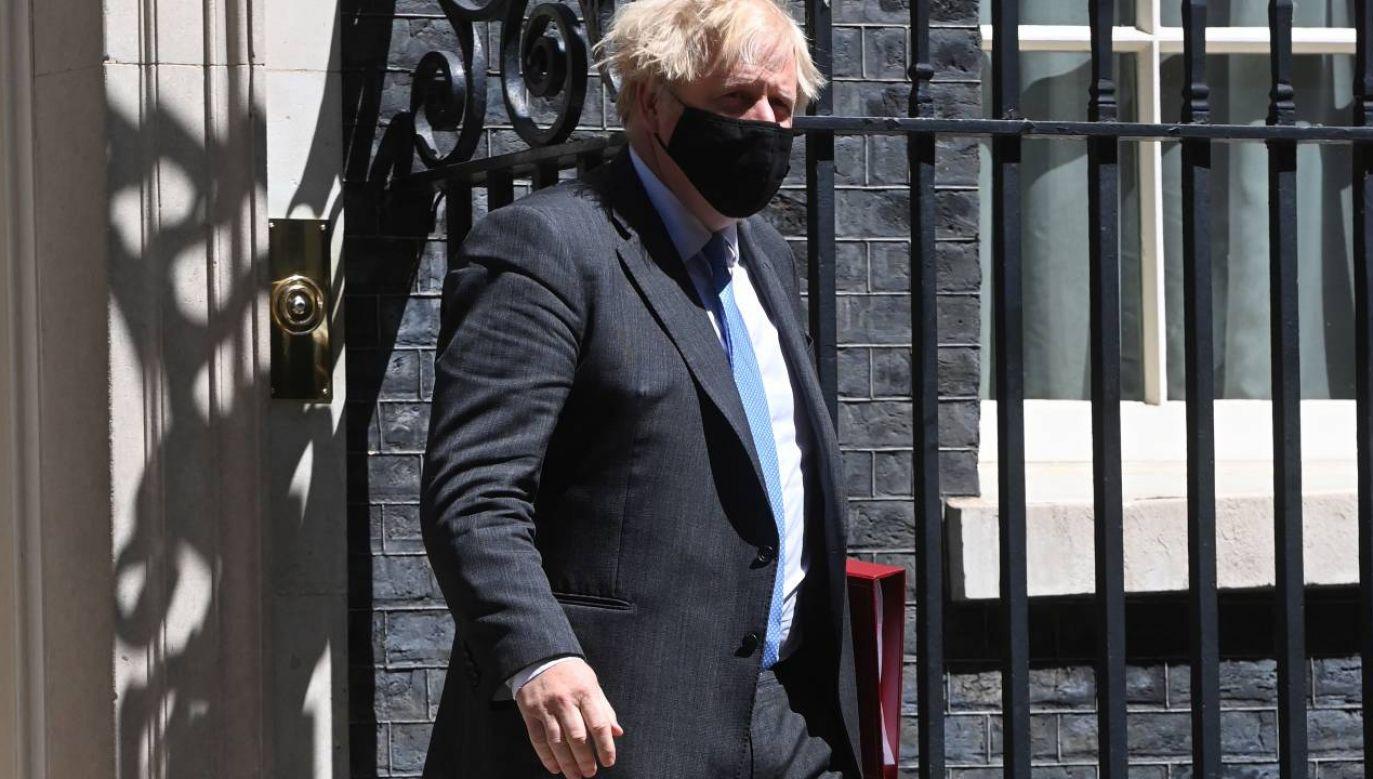 Rząd Borisa Johnsona rozpoczął negocjacje z CPTPP (fot. PAP/EPA/FACUNDO ARRIZABALAGA)
