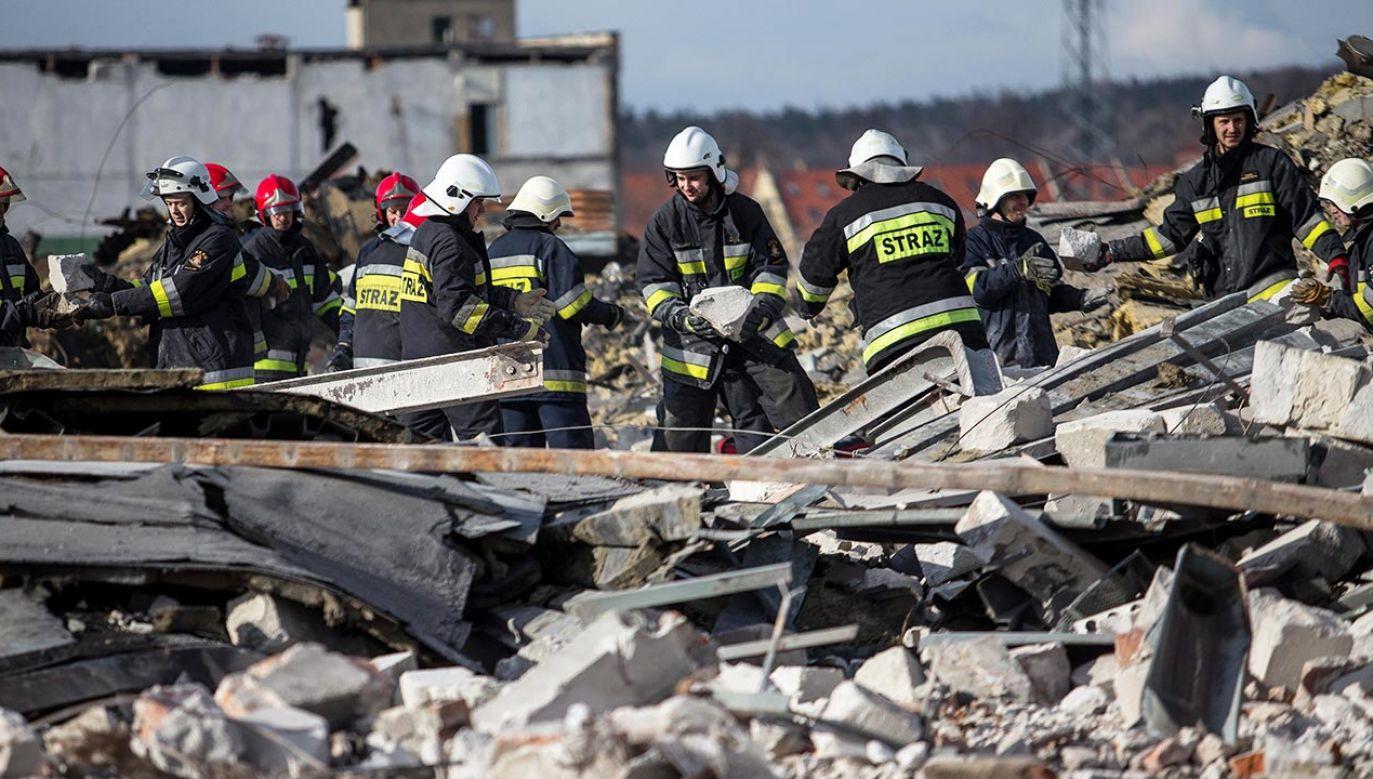 Liczba ofiar wybuchu w Bejrucie przekroczyła setkę (fot. PAP/Maciej Kulczyński)