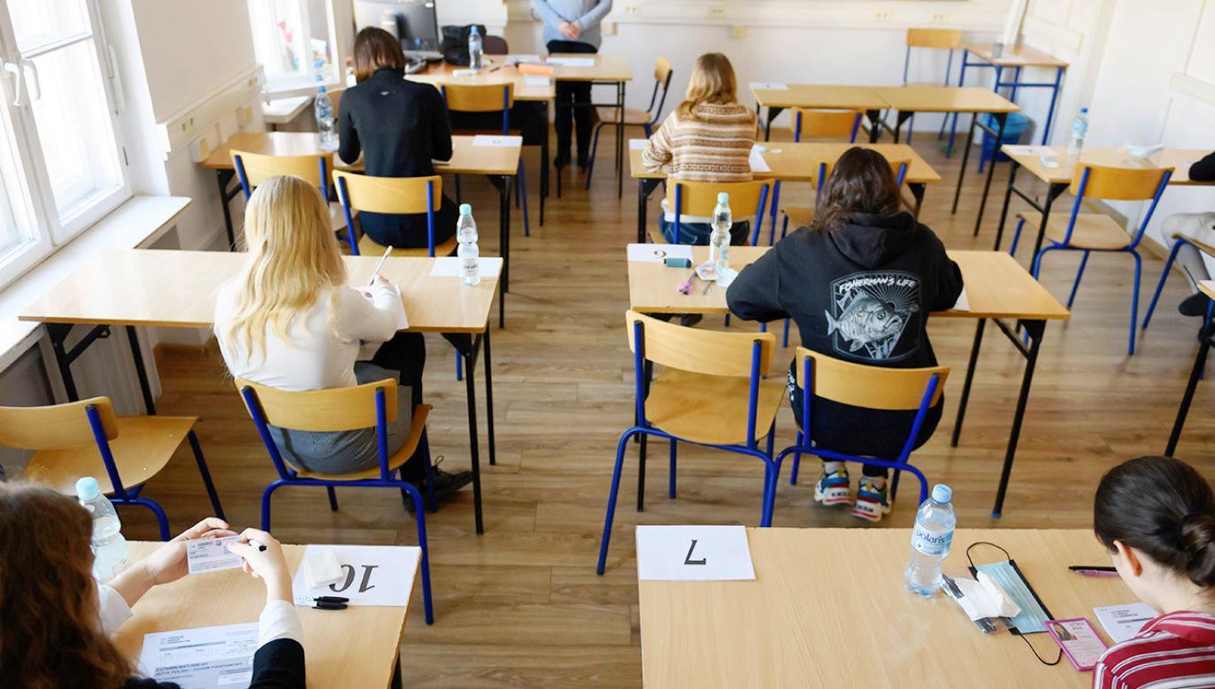 Jak będzie wyglądać próbna matura z matematyki? (fot. PAP/Jakub Kaczmarczyk)