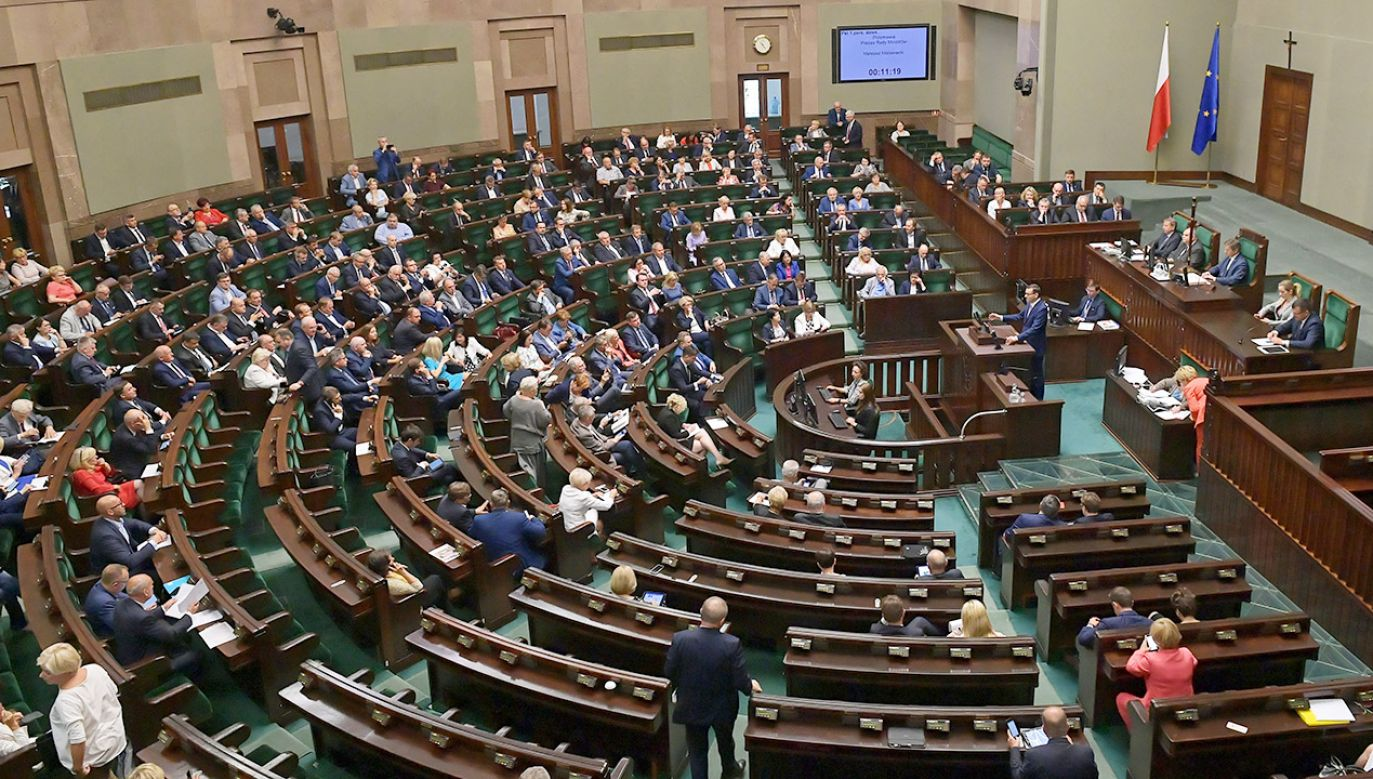 Gotowość do uchwalenia ustawy zapowiedział prezes PiS Jarosław Kaczyński  (fot. PAP/Marcin Obara)
