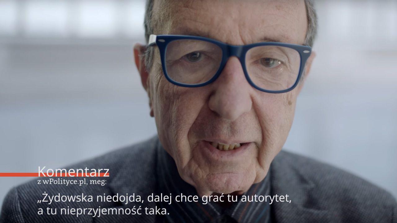 Wystawę promuje kontrowersyjny film (fot. youtube/Muzeum Historii Żydów Polskich)