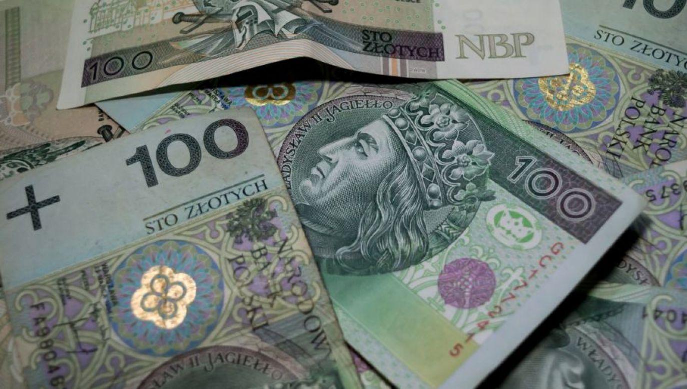 Zużyte lub uszkodzone banknoty i monety można wymienić na nowe w kasie dowolnego banku w Polsce (fot. tvp.info/Paweł Chrabąszcz)