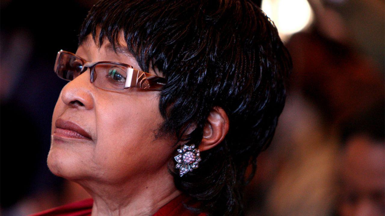 Winnie Madikizela-Mandela była postacią kontrowersyjną (fot. PAP/EPA/JON HRUSA)