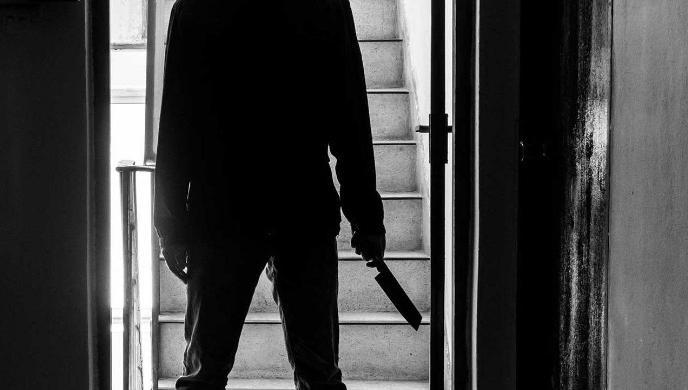 Mężczyzna zgłosił się na policję i okazało się, że jest mężem zadźganej kobiety (fot. Shutterstock/thebigland)