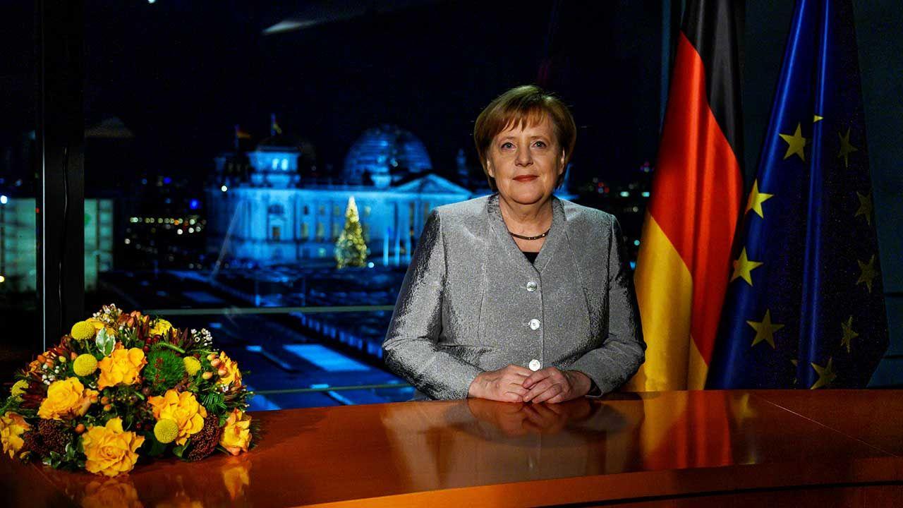 Kanclerz Niemiec w orędziu noworocznym podkreśliła potrzebę zwiększenia niemieckiej roli w globalnej polityce (fot. REUTERS/John Macdougall)