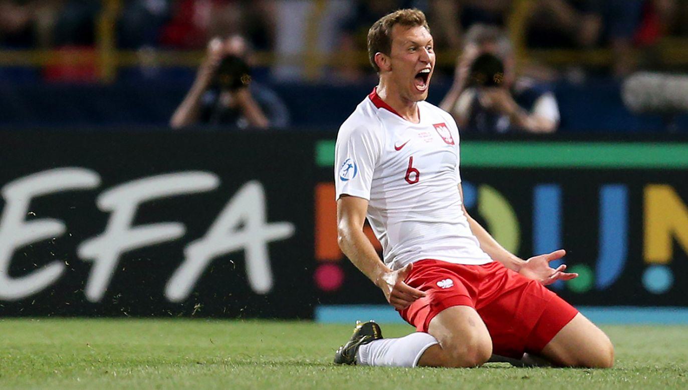 W pierwszej kolejce turnieju Polacy pokonali Belgię 3:2 i walczą o awans do fazy pucharowej ME (fot. Danilo Di Giovanni/Soccrates/Getty Images)