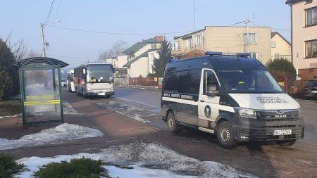 Zatrzymany autobus (fot. GITD)