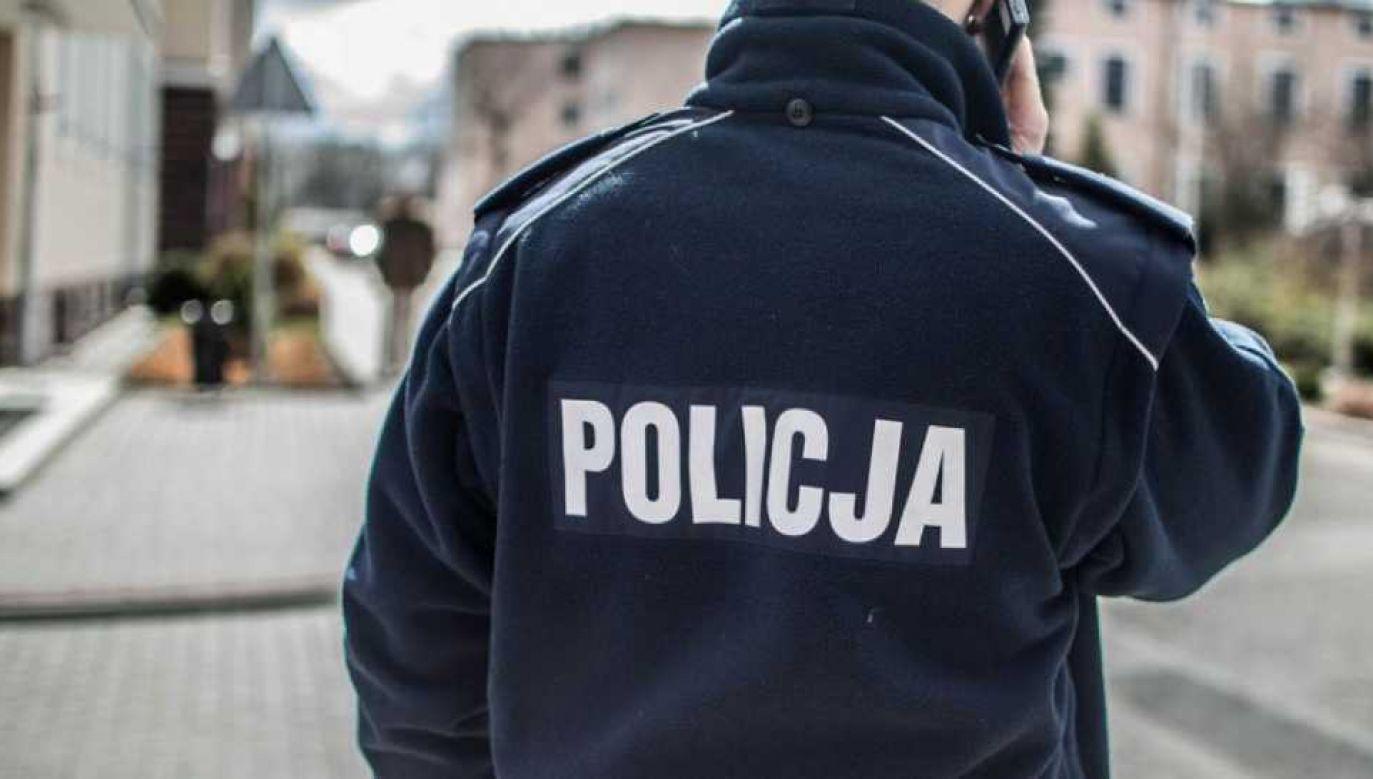 Policja poszukuje sprawców (fot. tvp.info/Paweł Chrabąszcz)