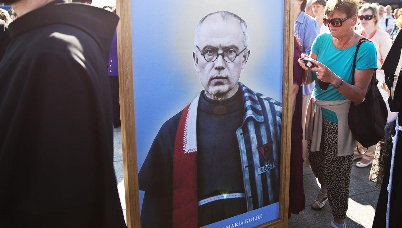 Św. Maksymilian Maria Kolbe został wybrany patronem Małopolski w 2021 r. (fot. PAP/Rafał Guz)