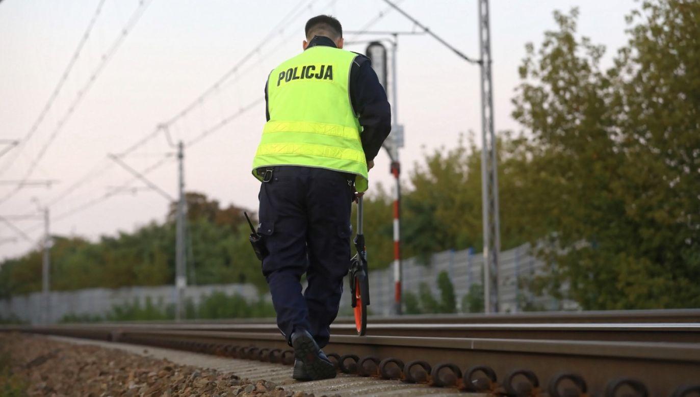 Śmiertelny wypadek na torach kolejowych (fot. arch.PAP)
