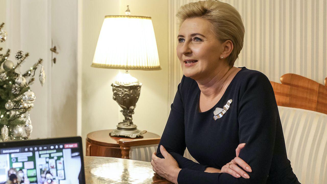 Pierwsza dama Agata Kornhauser-Duda (fot. Grzegorz Jakubowski/KPRP)