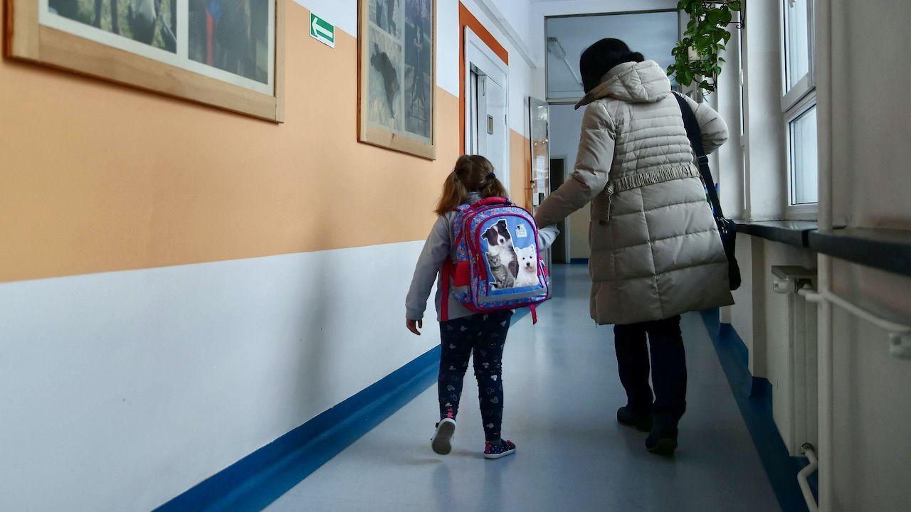 Kiedy będzie możliwa nauka w szkołach? (fot. arch.PAP/Łukasz Gągulski)