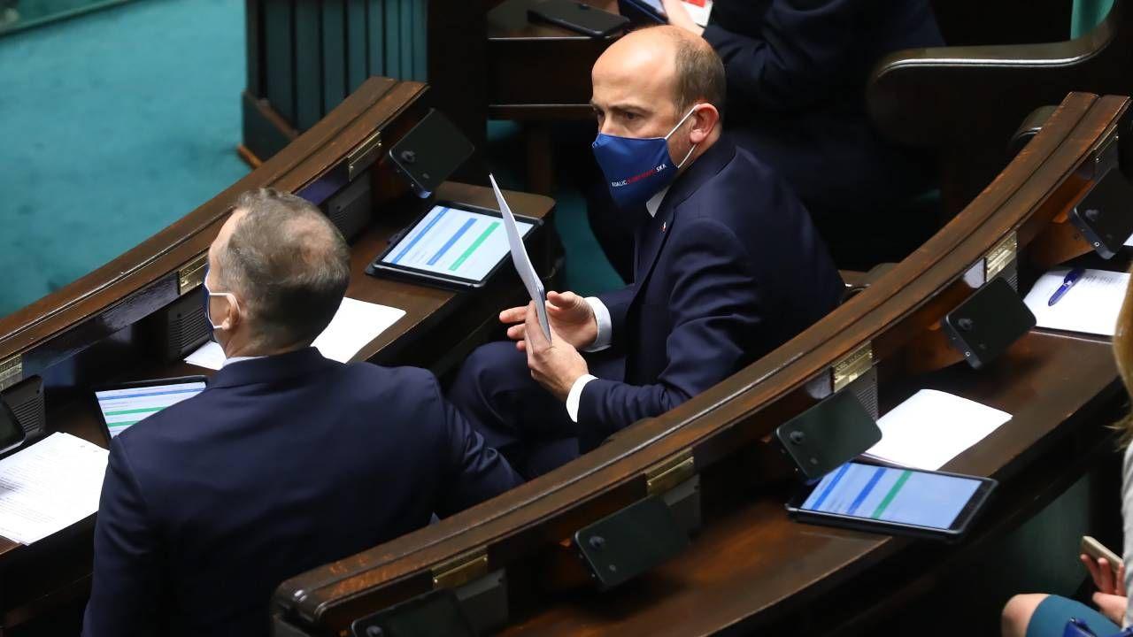 Lider KO Borys Budka zmienia stanowisko ws. KPO (fot. PAP/Rafał Guz)