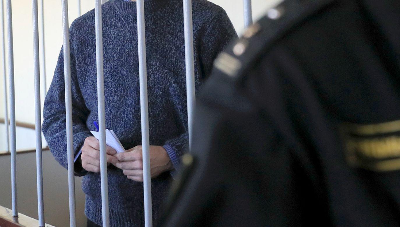 Proces toczył się za zamkniętymi drzwiami (fot. REUTERS/Tatyana Makeyeva)