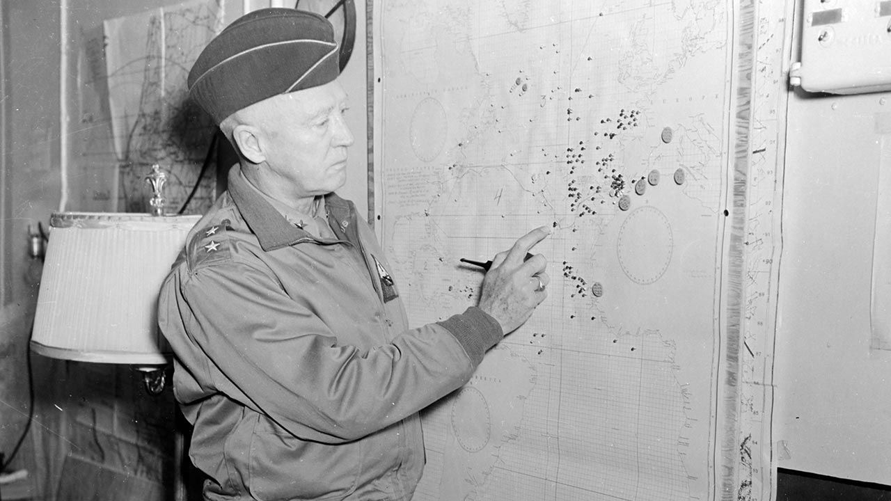 Gen. George Patton (fot. US Army/Interim Archives/Getty Images)