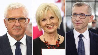 Senetorowie niezależni: Staroń, Tyszkiewicz i Kwiatkowski - tvp.info
