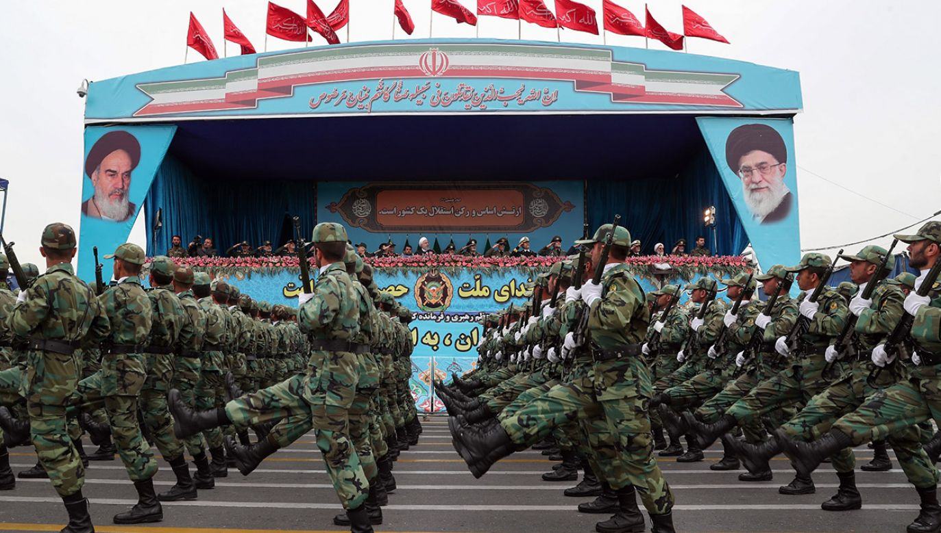 Irańskie siły zbrojne pod względem tzw. siły ognia stawia się na 14 (fot. Iranian Presidency / Handout/Anadolu Agency/Getty Images)