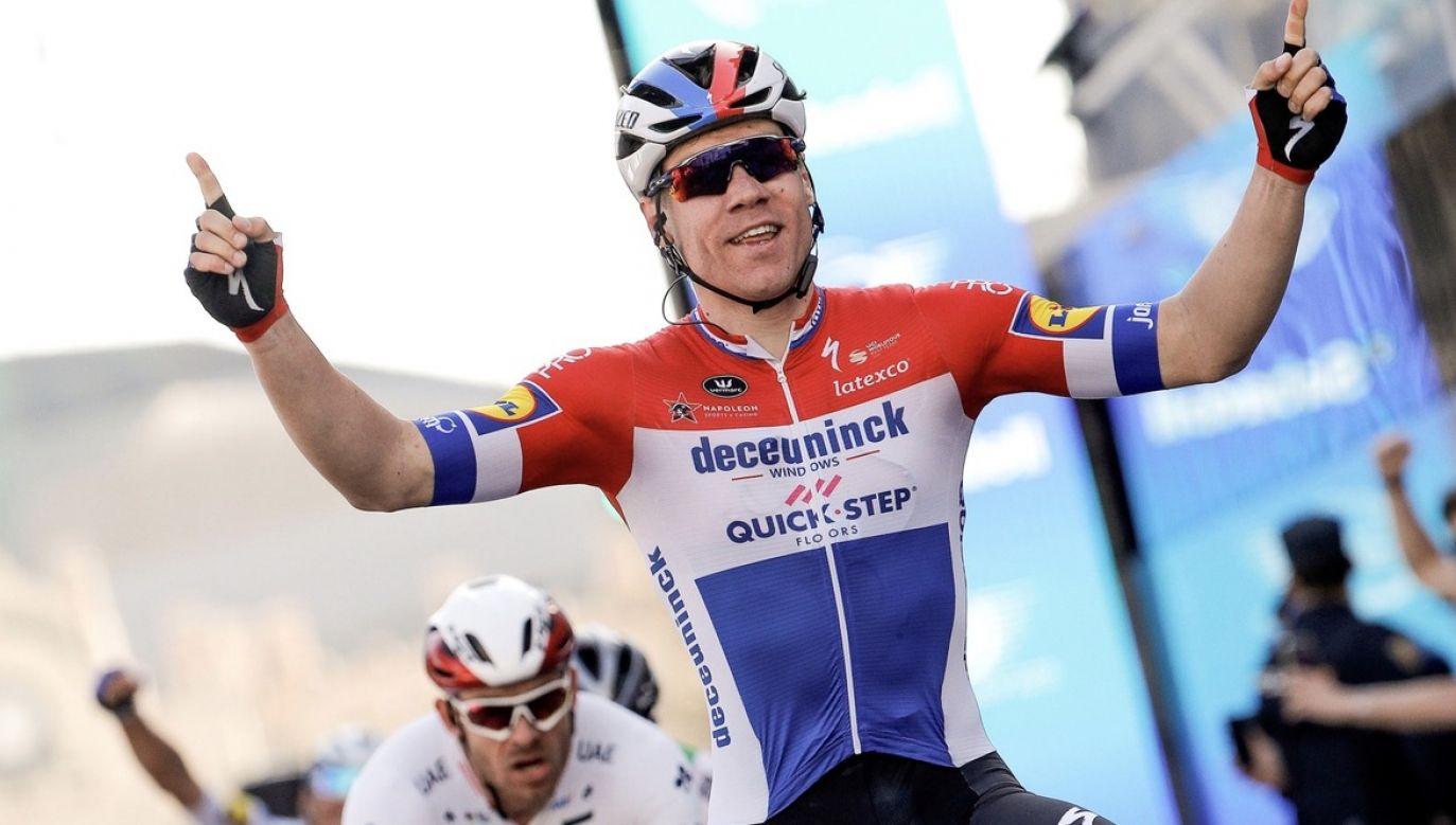 Fabio Jakobsen uległ wypadkowi na pierwszym etapie Tour de Pologne (fot. PAP/EPA/Manuel Bruque)