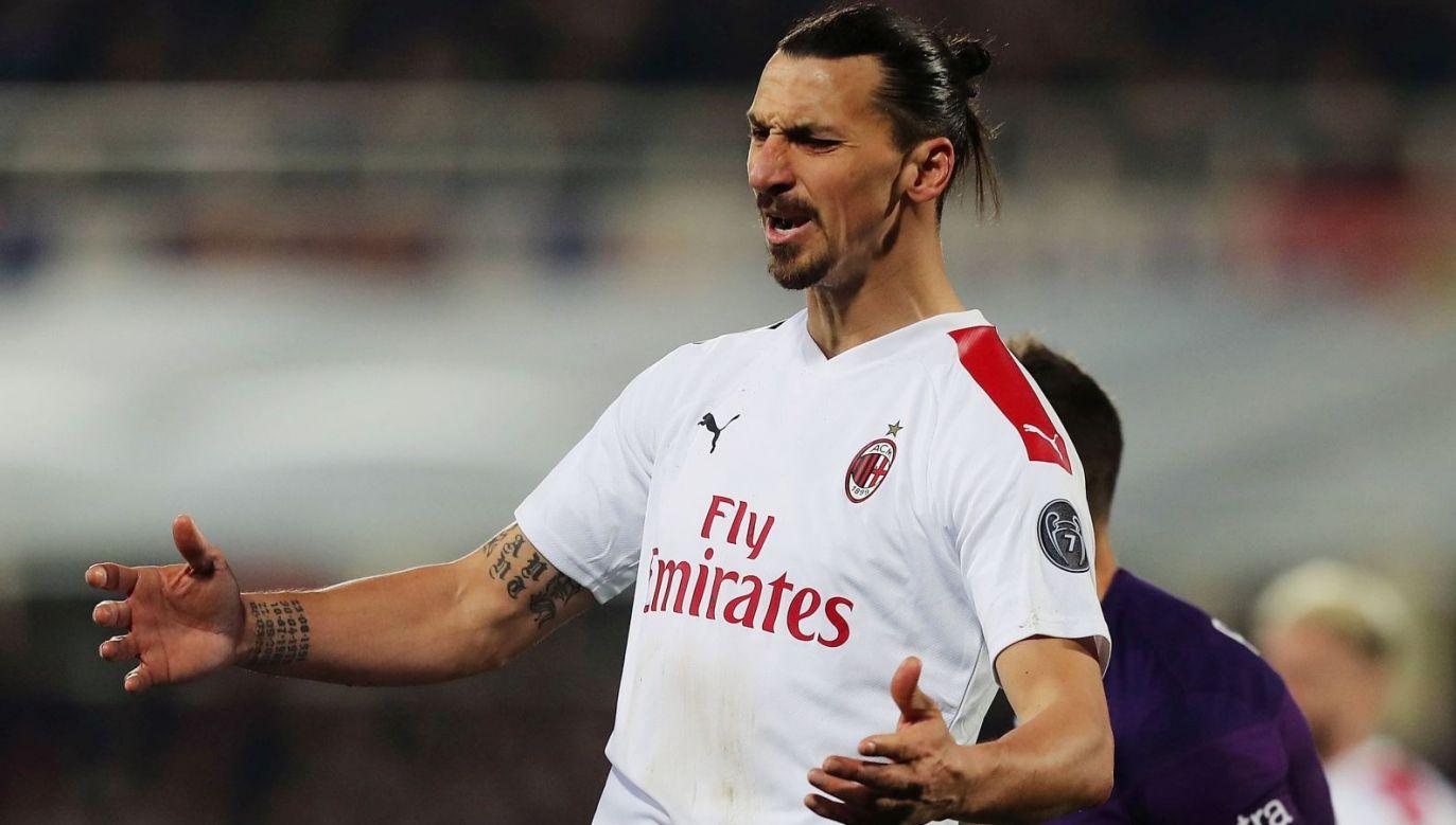 Zlatan Ibrahimović (fot. Getty Images)