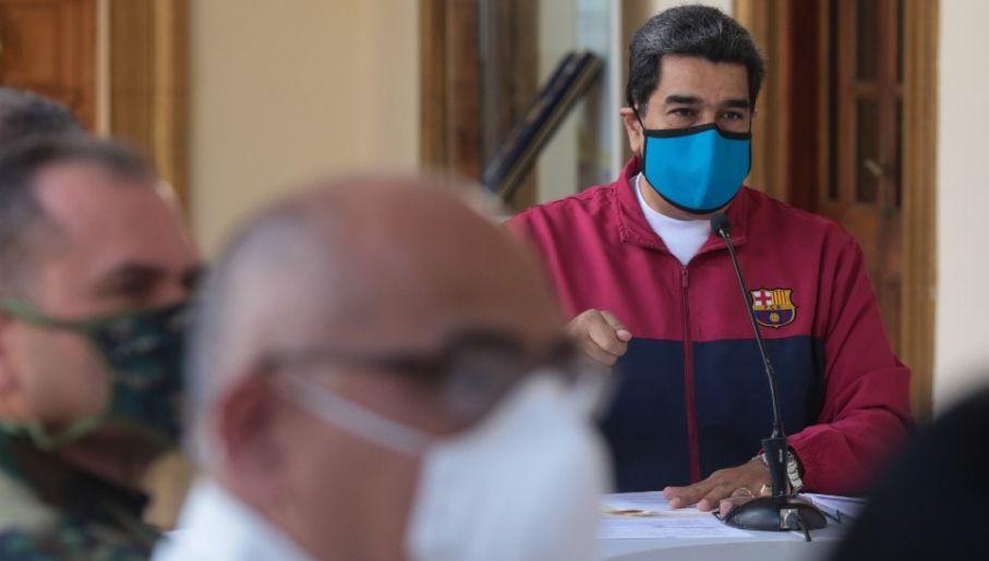 Szansa, by Maduro stanął przed amerykańskim sądem jest znikoma (fot. PAP/EPA/MIRAFLORES PRESS HANDOUT)