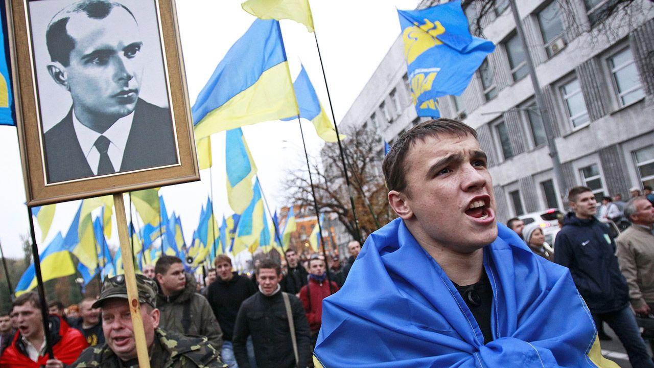 Bandera był przywódcą jednej z frakcji Organizacji Ukraińskich Nacjonalistów (fot. REUTERS/Gleb Garanich)