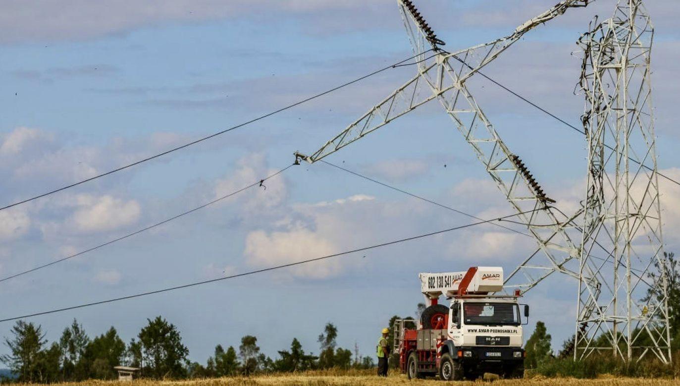 Napięcie na linii energetycznej wynosiło 230 V (fot. Michal Fludra/NurPhoto via Getty Images, zdjęcie ilustracyjne)