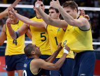 Brazylia rozbiła Włochów 3:0 (25:21, 25:12, 25:21) i awansowała do finału IO (fot. Getty Images)