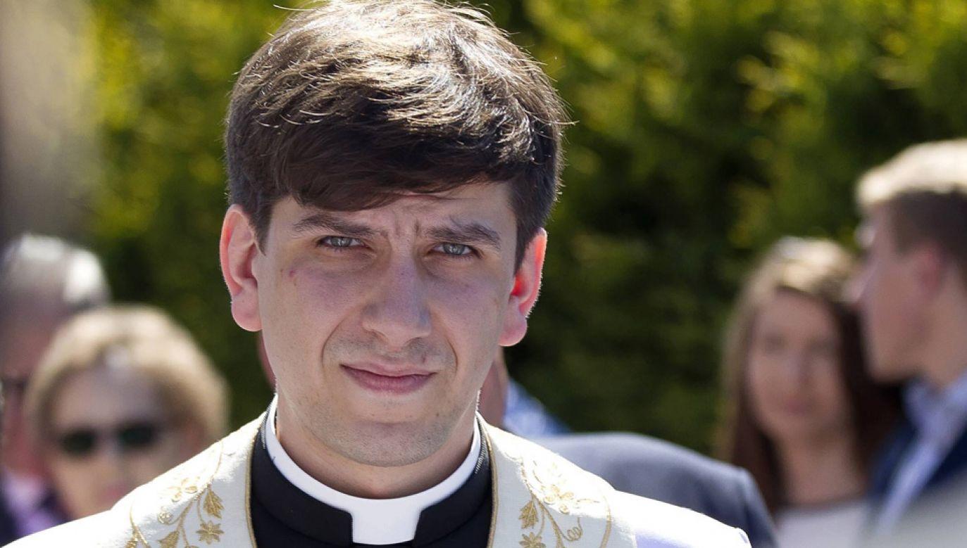 Tymoteusz Szydło przyjął święcenia kapłańskie w 2017 roku (fot. arch.PAP/Łukasz Gągulski)