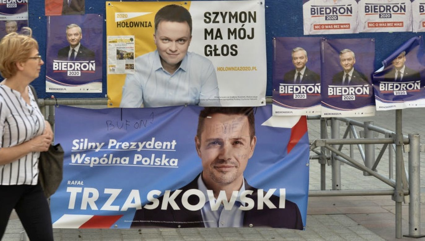 Były lider PO został zapytany, czego zabrakło Trzaskowskiemu do zwycięstwa (fot. Artur Widak/NurPhoto via Getty Images)